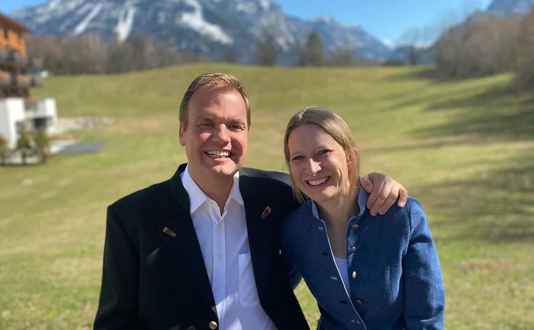 Gastgeber Dr. Andreas und Henrike Färber im Hotel Klosterhof