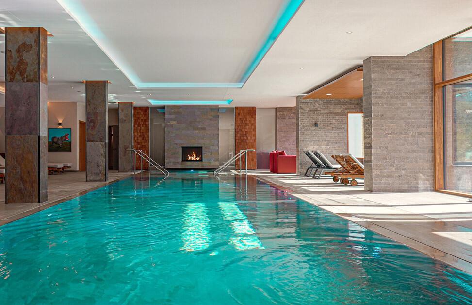 Spa im Wellnesshotel im Berchtesgadener Land