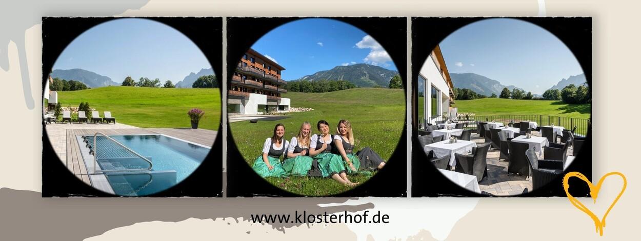 Ausbildung im Hotel 2021 - Die Welt der gehobenen Hotellerie im Klosterhof entdecken