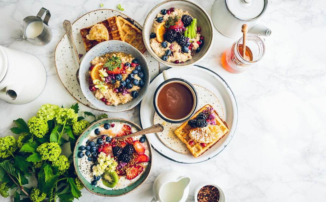 Genussvolles Frühstück im Hotel Klosterhof in Bayerisch Gmain bei Berchtesgaden