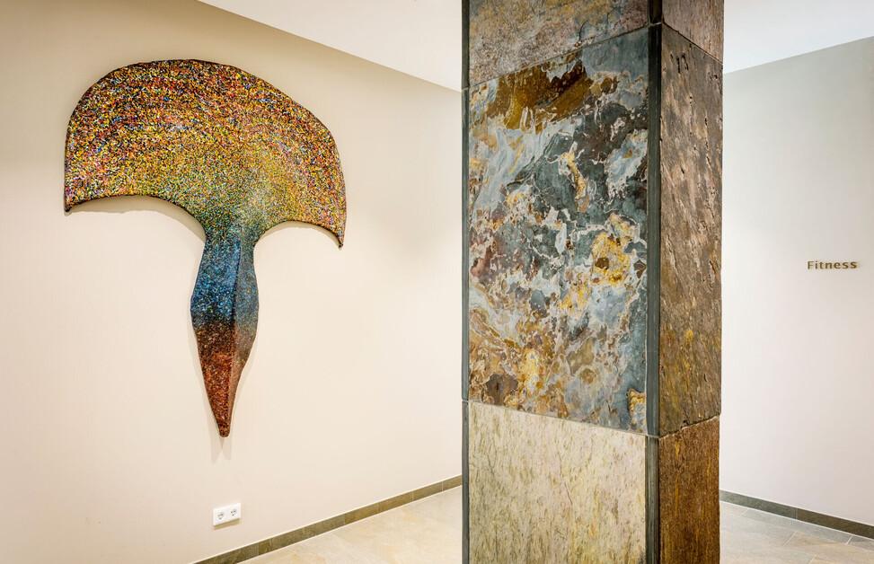 Kunst im Designhotel Klosterhof in Bayerisch Gmain