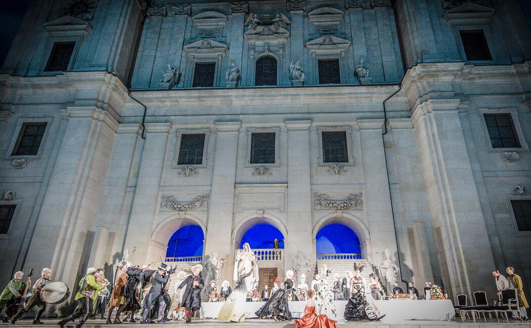 Aufführung bei den Salzburger Festspielen
