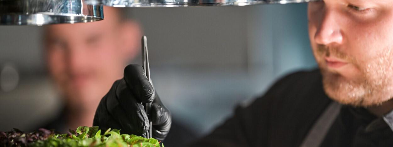 Kulinarik im Klosterhof Bayerisch Gmain 2021  - Küchenchef Sascha Förster